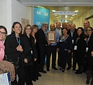 Barzilai Medical Center hosted AJC delegation